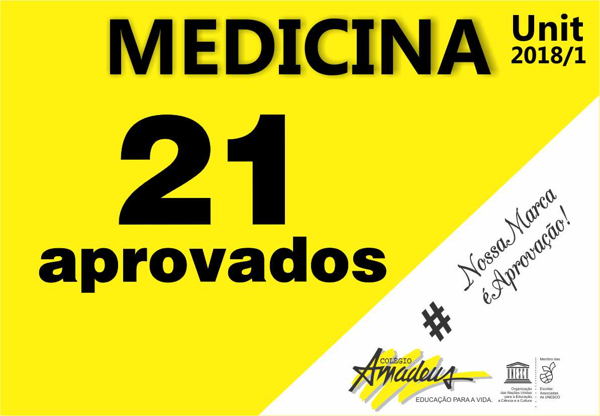 Aprovados Medicina UNIT-SE